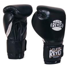 Cleto Reyes Перчатки боксерские на липучке CЕ606 6 унций (черные)