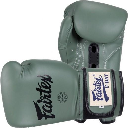 FAIRTEX Перчатки faiboxglove035 (16 oz, зеленый)