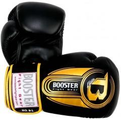 Боксерские перчатки booboxglove013 (12 oz, черный/золотой)
