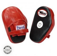 Лапы боксерские Twins Special стандартные (ONE, красный/черный)