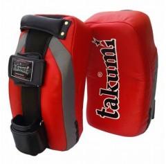 Лапы боксерские Лапы тайские (пэды) (ONE, кожа, красный)