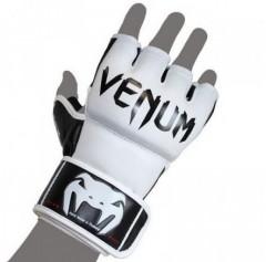 Venum Перчатки ММА Undisputed MMA Gloves - Nappa Leather White (S, белый)