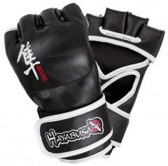 Hayabusa Перчатки MMA hayglove013 (4oz, S, кожа, черный)