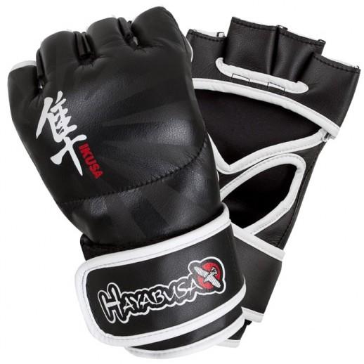 Hayabusa Перчатки MMA hayglove013 (4oz, L, кожа, черный)