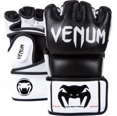 Venum Перчатки ММА Undisputed Gloves - Nappa Leather Black (S, черный)